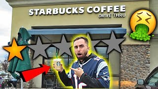 Going To The WORST Reviewed Starbucks In My City (1 STAR)