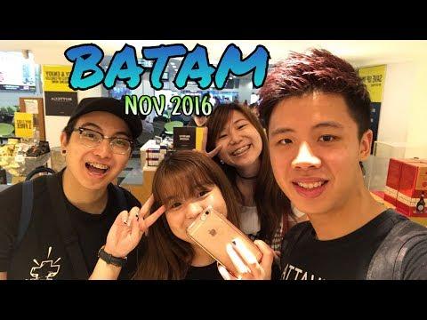 Batam Vlog 11 Nov 2016 - 13 Nov 2016