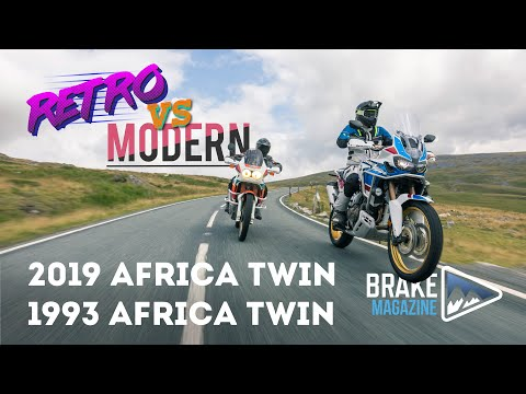 Video Intermission – Retro vs Modern – Honda Africa Twin