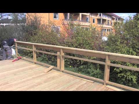 Bygge terrasse - en film fra MAXBO