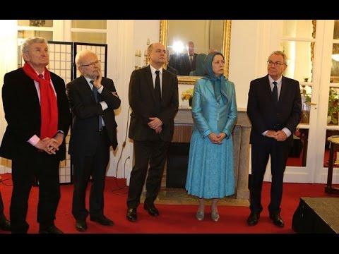 Maryam Radjavi - Norouz à l'Assemblée nationale française-5 avril 2016