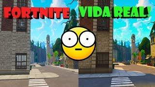 THIS FORTNITE MAP CITY EXISTS IN REAL LIFE!