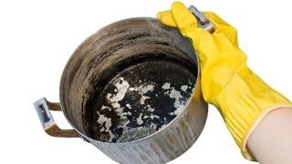Как очистить пригоревшую кастрюлю-даю совет хозяйкам  | #советыхозяйкам #edblack(, 2015-04-10T12:25:07.000Z)