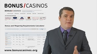 Bonus and Wagering Requirements Calculator for Online Casinos