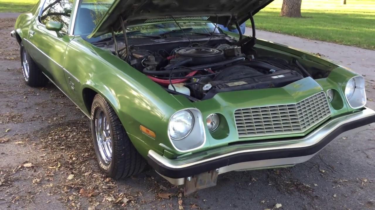 UNRESTORED CARS!! 1974 Camaro 350 - YouTube