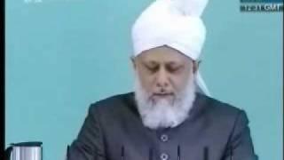 Проповедь Хазрата Мирзы Масрура Ахмада, (21-05-10) часть 3