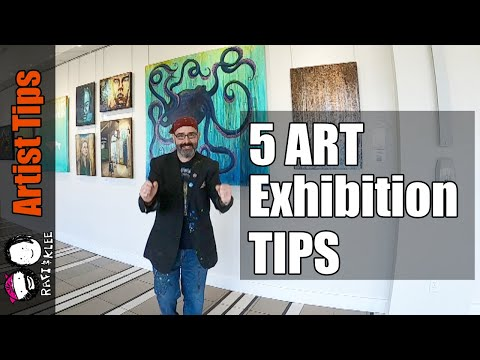 5 Art Exhibition Tips That Can Help You Be Successful