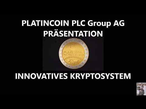 PLATINCOIN PLC Group AG PRÄSENTATION  INNOVATIVES KRYPTOSYST
