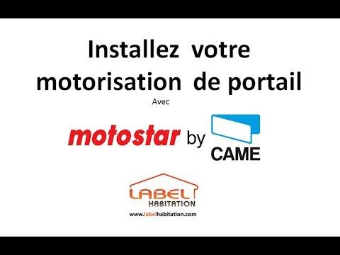 Motorisation portail battant motostar youtube for Motorisation portail 1 battant