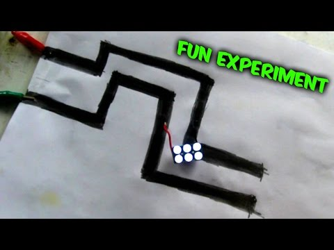 Graphite Paper Circuit - Cool Science Experiments