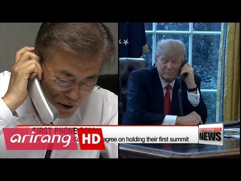 Moon, Trump expected to talk North Korea, THAAD during summit
