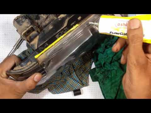 How to remove moisture / water from car headlight