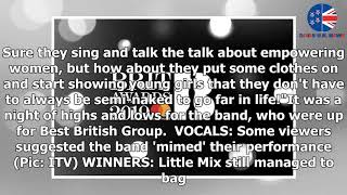 Brits 2019: 'Half naked' Little Mix divide fans over 'mimed' performance