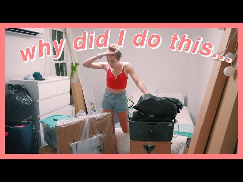 MOVING IN TO MY NEW APARTMENT! *chaotic*