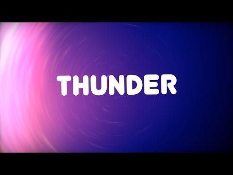 Thunder | Imagine Dragons | Lyric Video