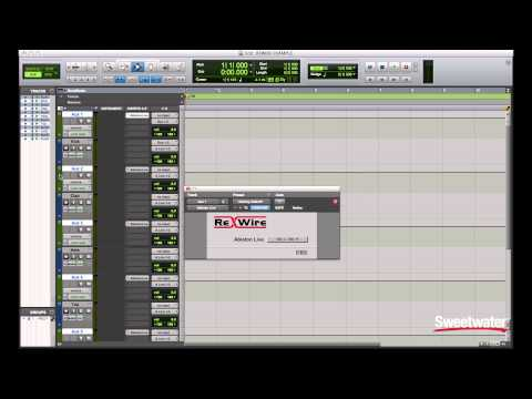 Setting up ReWire with Pro Tools and Ableton Live