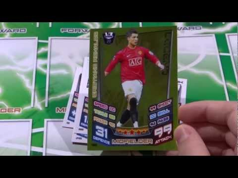 Match Attax 12 13 Opening Legend Cristiano Ronaldo Fantasy Team Card! Box of 100 ep9