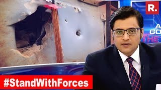 Biggest Ever Mesage, No Indian Security For Pakistan Stooges The Debate With Arnab Goswam ...