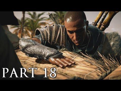 ASSASSIN'S CREED ORIGINS Walkthrough Gameplay Part 18 - Crocodile's Scales (AC Origins) thumbnail