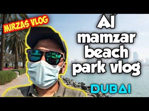 A trip to Dubai mamzar beach || filli tea ||  Dubai beaches|| Al mamzar park
