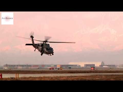 United States Air Force Pararescue • HH 60s Take Off From Bagram Airfield