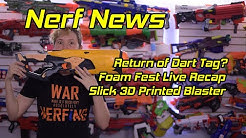 This Week in Nerf EP 65 - Nerf Trademarked for TV, 3D Printed Spring Pistol, The Return of Dart Tag?