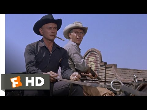 The Magnificent Seven 212 Movie   Standoff at the Cemetery 1960 HD