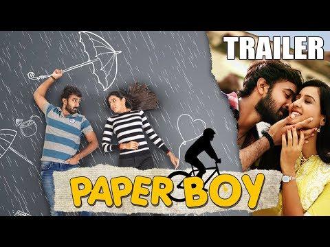 Paper Boy (2019) Official Hindi Dubbed Trailer | Santosh Sobhan, Riya Suman