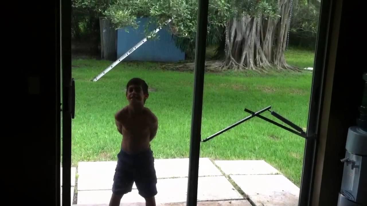 Sliding Glass Door Closer Youtube