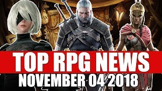 Top RPG News of the Week - Nov 4 2018 (SoulCalibur 6, Witcher, AC Odyssey)