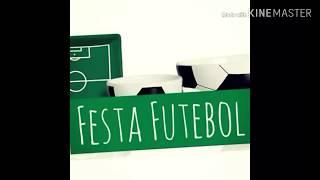 #Preparativos#festa#futebol material sacolinhas