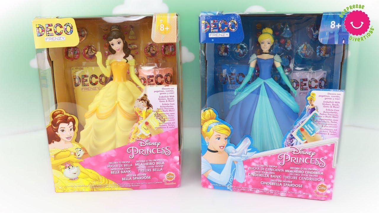 Decoro Vestidos Para Las Princesas Disney Con Brillantes Y Pegatinas