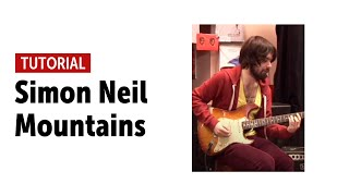 Biffy Clyro - Mountains  - Guitar Tutorial with Simon Neil (Tabs in link below)