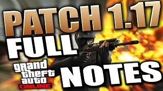 GTA 5 Patch 1.17 - Full Info & Patch Notes 3 New Cars, Masks & Clothes (GTA 5 DLC)
