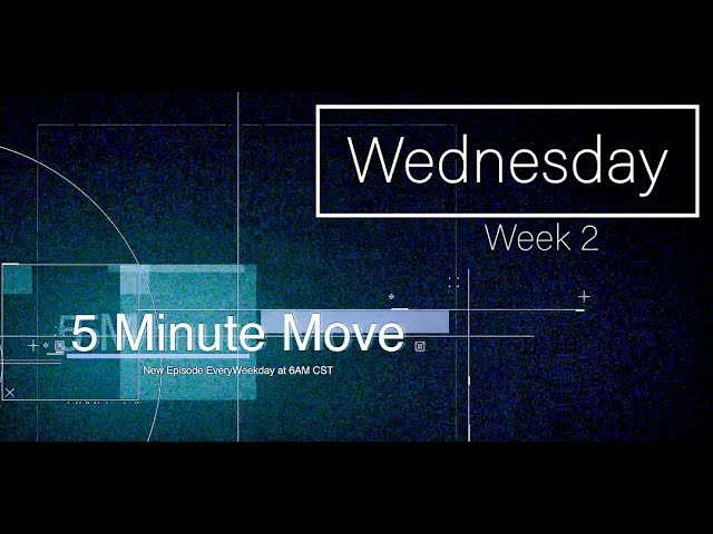 Chest/Arms - Dumbbell - 5 Minute Move - Wednesday