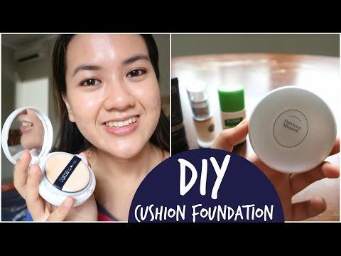 DIY Cushion Foundation | Bikin Sendiri BB Cushion Mudah dan Murah ala Alifah Ratu Saelynda