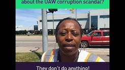 What do Detroit autoworkers think about the UAW corruption scandal?