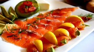 How to make Cured Salmon - Gravlax Recipe - Heghineh Cooking Show