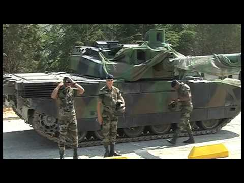 D monstration dynamique du char leclerc tank de combat youtube - Coloriage de char ...