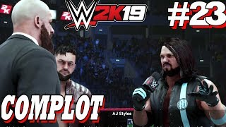 WWE 2K19: Mode Mon Joueur / Ma Carrière Le Complot #23 PS4 Pro