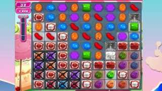 Candy Crush Saga Level 866 No Booster 3* 4 moves left