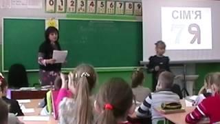 Відкритий урок у 3 класі.  Рід іменників. Вчитель - Іванова В.Б. Миргород Школа №7