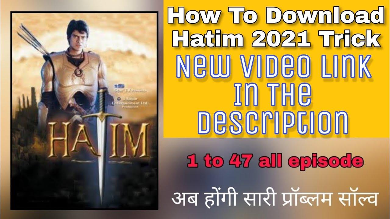 Download How To Download Hatim Star Plus 2004  Hindi  2021