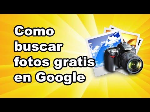Como usar Google para buscar imagenes y fotos con derecho de uso libre: Buscando fotos gratis