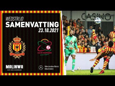 Mechelen Waregem Goals And Highlights