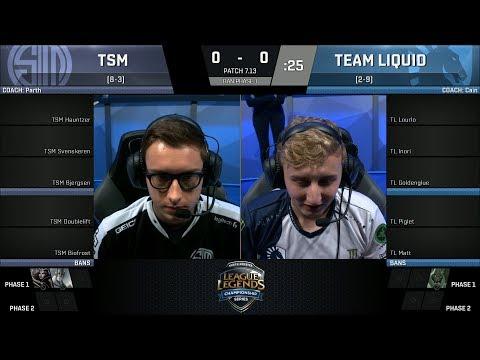 TSM vs TL, Game 1-  2017 NA LCS Summer Week 6 - Team SoloMid vs Team Liquid