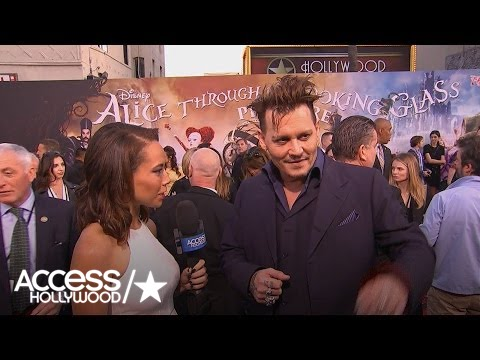 Johnny Depp Explores Different Sides Of The Hatter In 'Alice' | Access Hollywood