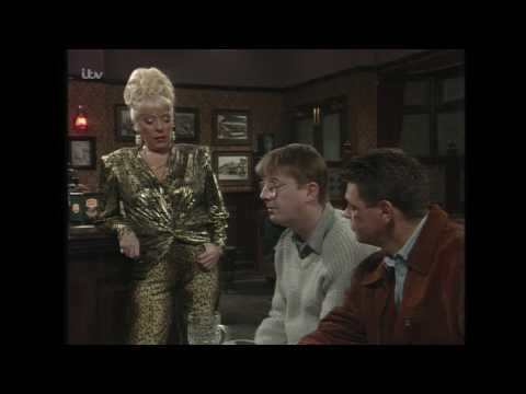 Curly and Des Sulk in the Rovers - Coronation Street