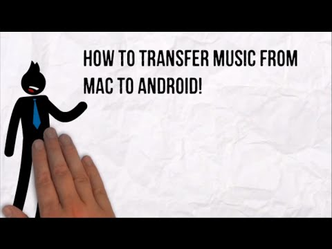 How to transfer music from Mac to Android