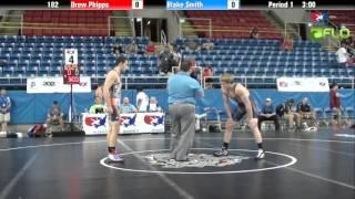 Cadet 182 - Drew Phipps (Pennsylvania) vs. Blake Smith (Arizona)